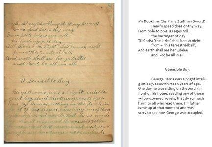 Abram P. Shenk Composition Book, page 3